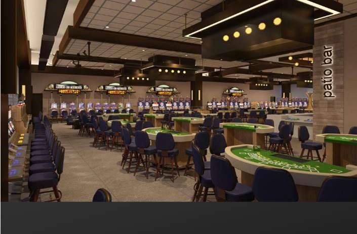 Horseshoe Casino Patio Gaming Bar, Baltimore, MD