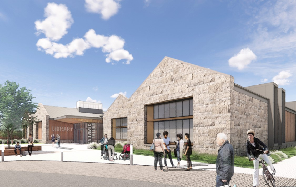 NEW CASTLE SOUTHERN LIBRARY, New Castle, DE